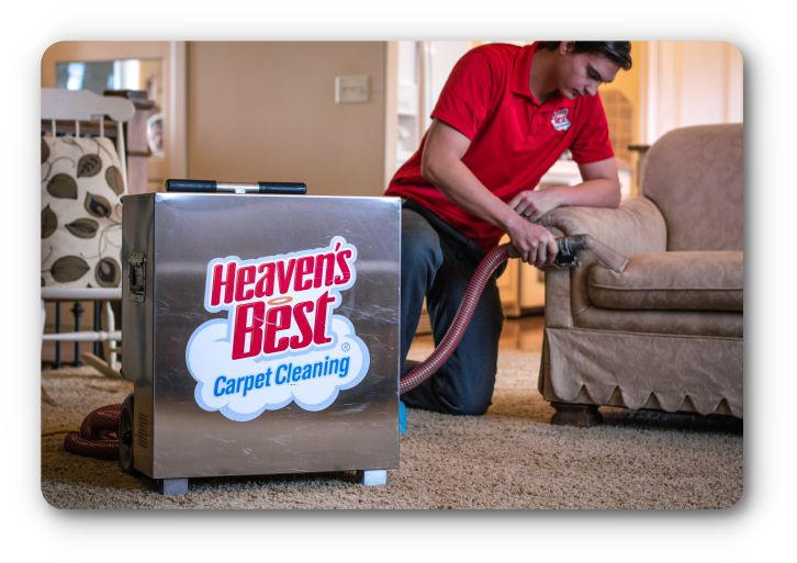 Upholstery Cleaning – Heaven's Best